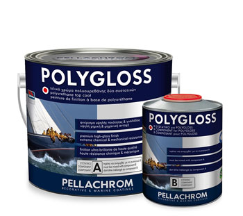 POLYGLOSS 800 BLACK A+B 750ml