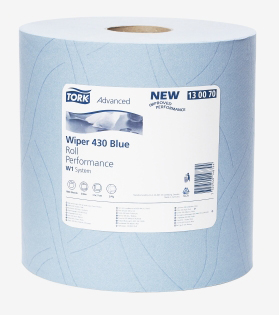 ROLE TORK WIPER 430 BLUE