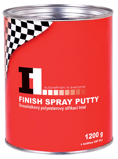 I1 FINISH SPRAY PUTTY - STŘ. TMEL 1200g